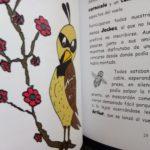 Texto e ilustración sobre papel offset blanco de 120gr/m.